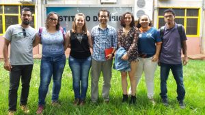 Membros e tutor do UC da UFMS.