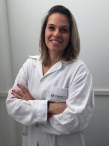 Founding partner of Nanomed: Amanda Luizetto dos Santos.
